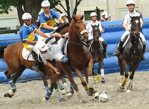 horse ball Arles contre Bordeaux