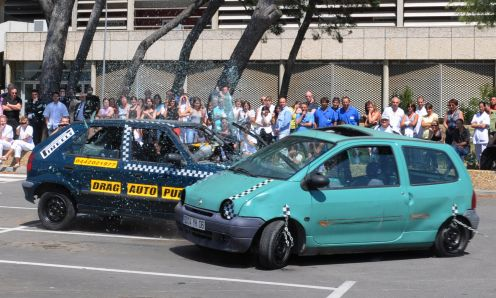 demo crash test prevention routiere a l'hopital