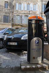 borne de parking