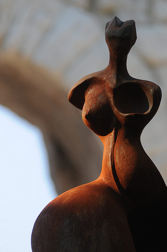 Statue de Bernard Lancelle