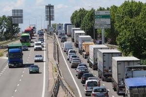 circulation embouteillage voie rapide db