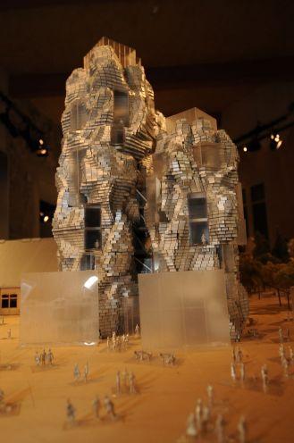 fondation luma maquette a l hotel du cloitre pm
