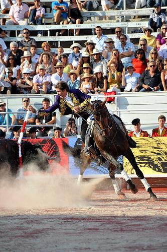 Mendoza corrida goyesque