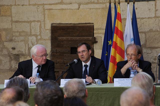 Conférence de presse autour du contournement autoroutier d'Arles