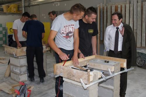 Visite du Centre de formation d'apprentis BTP
