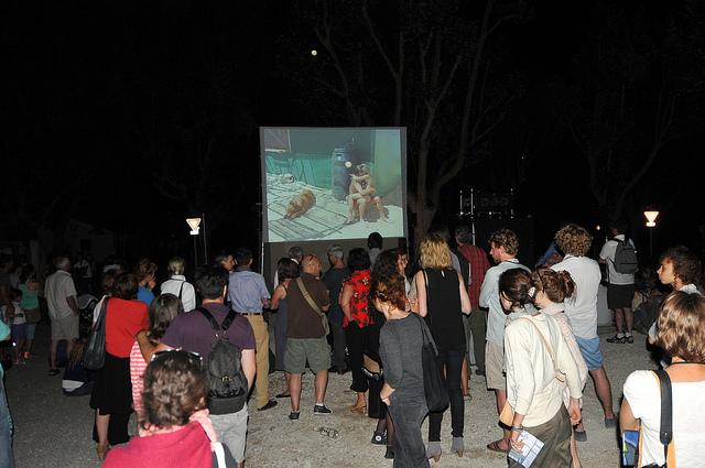 La Nuit de l'année des Rencontres d'Arles se déroulait vendredi 5 juillet à Salin de Giraud