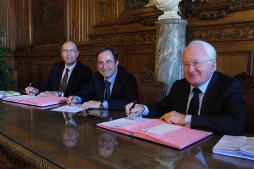 Signature du protocole de financement entre la ville d'Arles et la Caisse des Dépots et Consignations