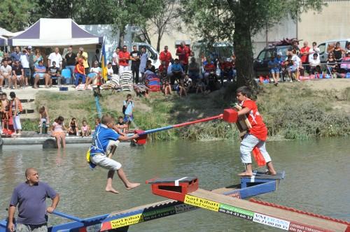 Joutes Championnat de Provence canal Arles à Bouc pm