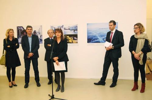 """inauguration de l'exposition """"Les chemins de l'école"""" présentée par l'accm"""
