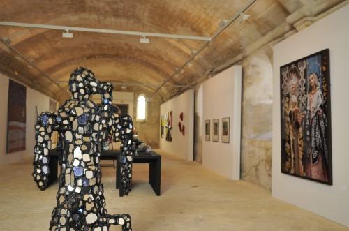 Expostion Lacroix MP2013 à l'Abbaye de Montmajour pm