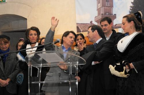 inauguration du salon des santonniers
