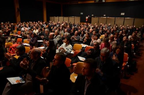 Près de 200 chefs d'entreprises ont participé à la réunion organisée par la CCI et la Fondation Luma. Photo DB. Ville d'Arles
