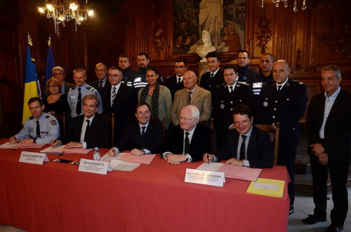 Signature convention police nationale police municipale gendarmerie 18