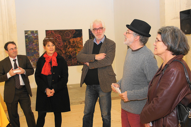 vernissage expo signes et sable chapelle Ste Anne