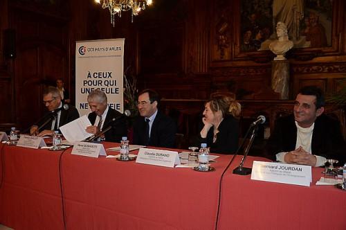Conférence de presse Arles Campus