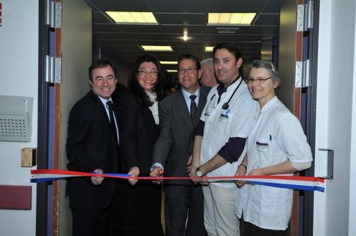 Inauguration du court séjour gériatrique au centre hospitalier d'Arles
