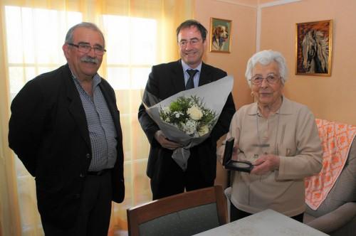 les cent ans de madame Andrée Lopez