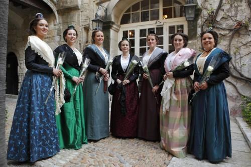 Finalistes 22ème reine d'Arles