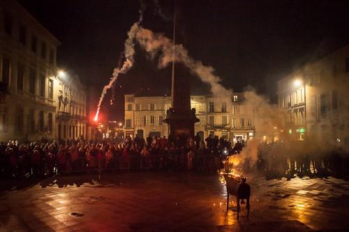 Feria de Pâques 2014 Toro de fuego