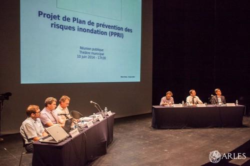 Réunion publique  PPRI 2014, Arles