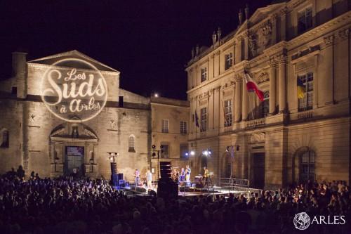 Concert place de la République le 14 juillet 2014