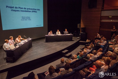 Réunion public PPRI 2014, Arles