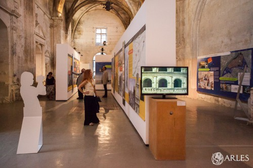 Exposition Monuments & Paysages urbains d'Arles