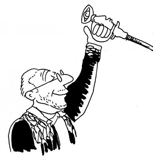 Caricatures de Clergue 3
