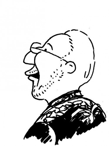 dessin B Heitz Caricatures de Clergue 2