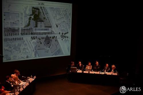 Présentation projets ENSP et Luma au théâtre Arles