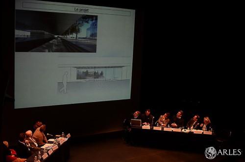 Présentation projets Luma et Ensp théâtre d'Arles
