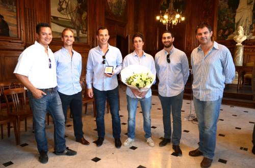 reception equipe de horseball db
