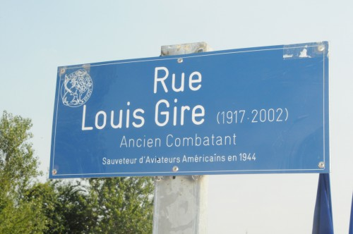 Inauguration Rue Louis Gire pm *** Local Caption *** Inauguration Rue Louis Gire
