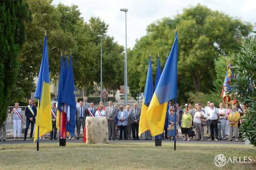 Inauguration stèle résistants de Port Saint Louis
