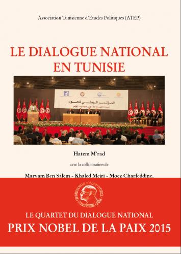 Le dialoge national tunisien avec bandeau- 1ere de couvpng