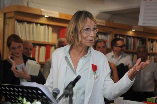 Remise de la Legion D'Honneur à Mme Françoise Nyssen pm