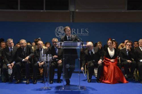 Voeux2015 Palais des congre¦üs Arles hd-4