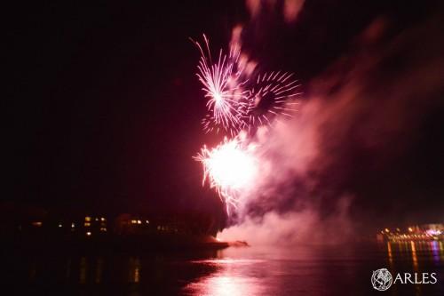 feu d'artifice feria de pâques 2016