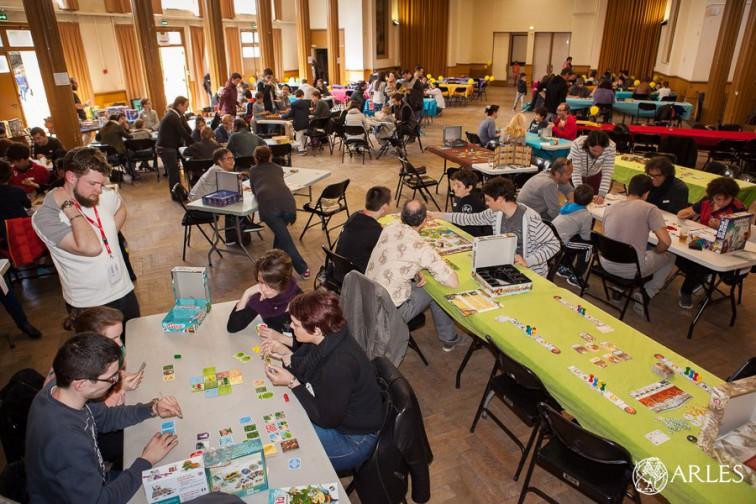 Festival du jeu 2016 à la salle des fêtes de la maison de la vie associative.