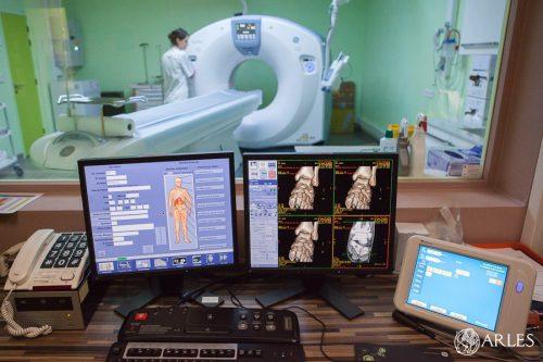 Nouveau scanner au centre hospitalier Joseph Imbert à Arles