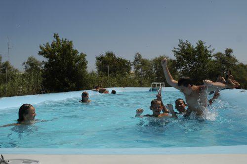 piscine salin