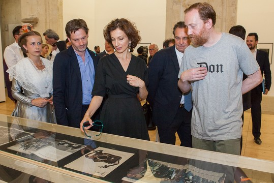 visite audrey azoulay