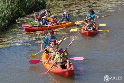 Base de loisirs de Beauchamp à Pont-de-crau : stage de sports de plein air comme le VTT, l'escalade, l'orientation, le kayak, le canoë, etc.