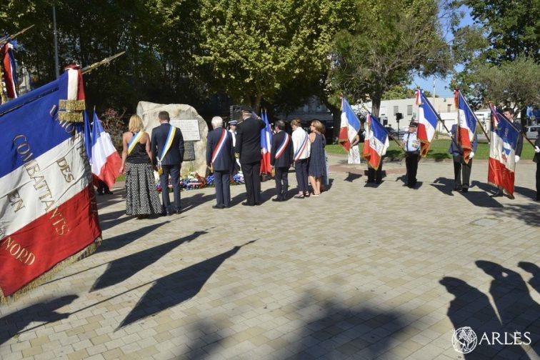 72ème anniversaire de la libération d'Arles
