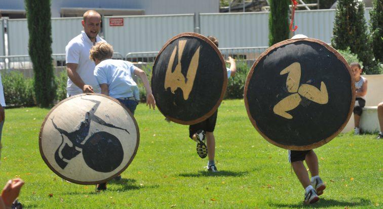 Olympiade Enfants CAS avec ACTA au Jardin d'Hortus pm