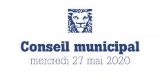 Le conseil municipal du 27 juin en streaming